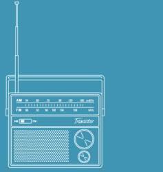 Transistor radio vector