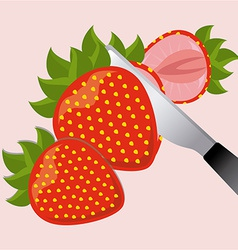 Healthy fruits vector