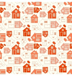 Home sweet home house silhouette and outline vector