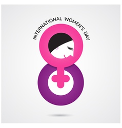 8 march international women s day vector