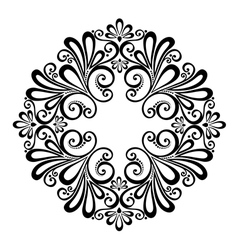 Beautiful deco circle vector