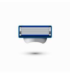 Modern razor icon on white background vector