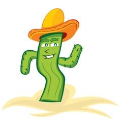 Mexican cactus vector