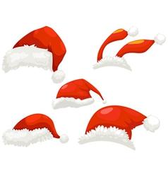 Christmas hat vector