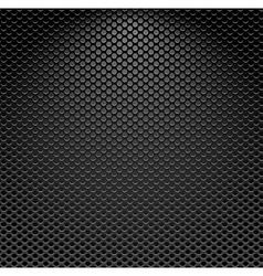 Metallic textured background vector