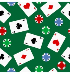Poker background vector