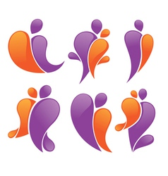 Abstract family vector