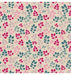 Seamless texture with flowers endless floral vector