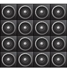 Audio speakers vector