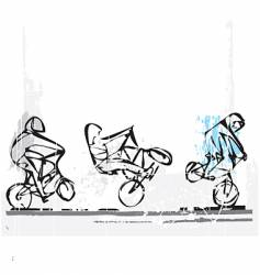Bmx freestyle vector