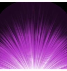 Star burst porple and white flare eps 8 vector