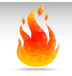 Polygonfire vector