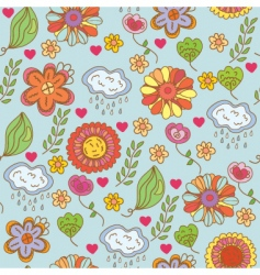 Floral nature vector