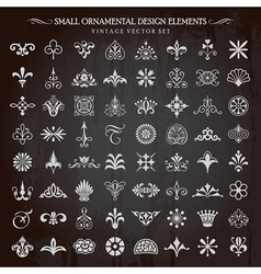 Small design elements vector