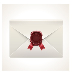 Retro envelope icon vector