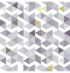 Grey lilac triangle vector