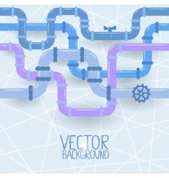 Pipes background vector