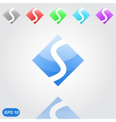 Speed concept - s letter vector