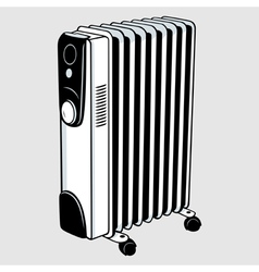 Electric heater vector