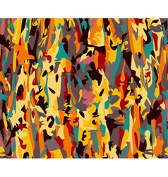 Modern camouflage seamless pattern vector