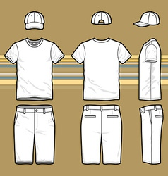 Mens set vector