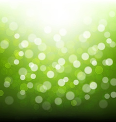 Green bokeh vector