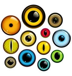 Eye set vector