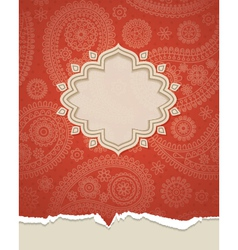 Indian frame vector