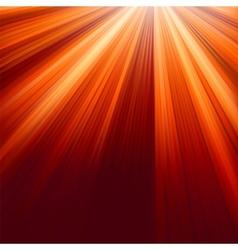Red luminous rays vector