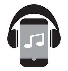Smart phone music vector