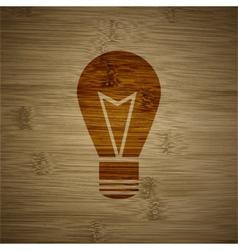 Light lamp icon symbol flat modern web design with vector