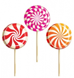 Lollipops vector