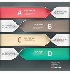 Spiral infographics options banner vector