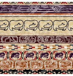 Vintage ethnic seamless texture vector