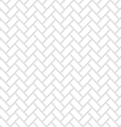 Seamless white brick texture vector