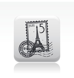 Paris icon vector