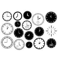 Set of clocks vector