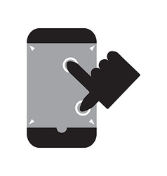Zoom out smart phone vector