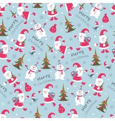 Christmas seamless 2 vector
