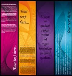 Vertical-banners vector