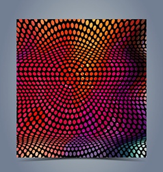 Abstract halftone colorful background vector