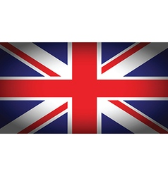 Uk faded flag vector