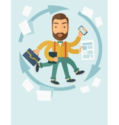 Multitasking job vector