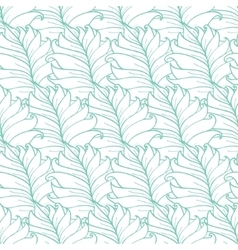 Green tropical leaves texture seamless vector