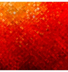Square pattern in red and orange colors eps 8 vector