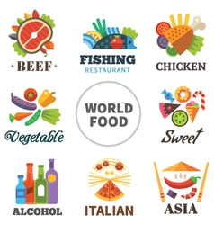 World of food vector