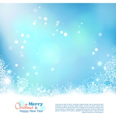 Abstract christmas winter background vector