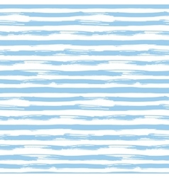 Seamless pattern with blue brush strokes vector