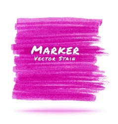 Purple marker stain vector