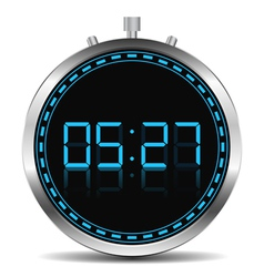Digital timer vector